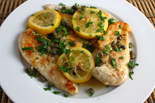 Chicken Piccata 500