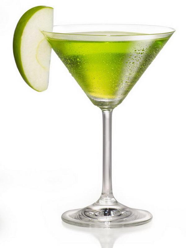 The Perfect Green Apple Martini